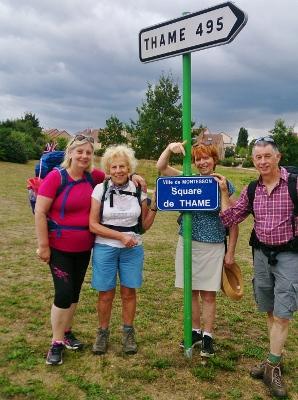 'Team GB' L-R Linda Emery, Cythia Jackson, Sonja Francis and John Francis